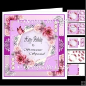 Special Birthday Flowers Mini Kit