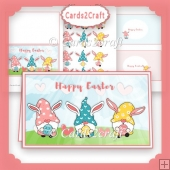 Easter Gnomes card sheet