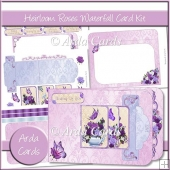 Heirloom Roses Waterfall Card Kit