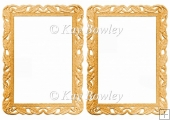 Lovely gold frames/card fronts/ toppers/ Inserts/ A5