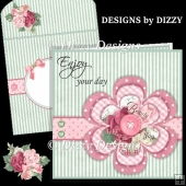 Layered Flower Card