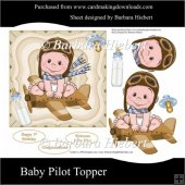 Baby Pilot Topper