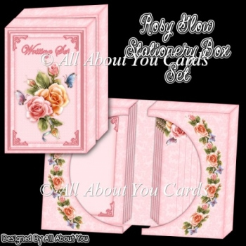 Rosy Glow Stationery Box Set
