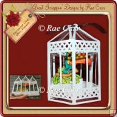 518 Bird Cage Card MACHINE Cut Files