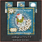 Christmas New Year Lamb Card Topper Kit 1333