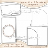 Money Gift Card & Envelope Template Commercial Use