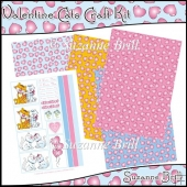 Valentine Cats Craft Kit