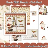 Santa With Presents - Card Front