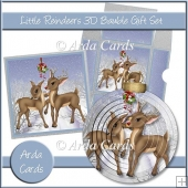 Little Reindeers 3D Bauble Gift Set