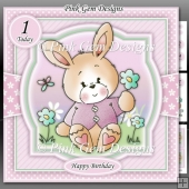 Spring Bunny Pink Mini Kit With Ages 1 to 9 yrs