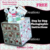 Advent Cube Photo Tutorial