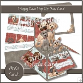Puppy Love Pop Up Box Card
