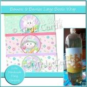 Bonnets & Bowties Large Bottle Wraps