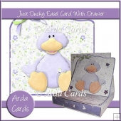 Just Ducky Easel Card With Drawer