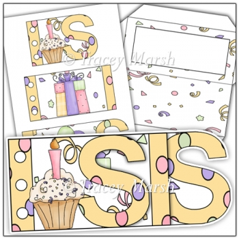 Sis Birthday Word Book Set