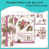 Woodland Wishes Gift Box Card