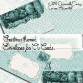 Christmas themed Envelope for C6 Cards