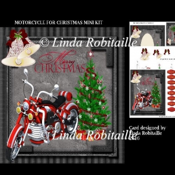 Motorcycle For Christmas Mini Kit