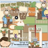 Hows Your Garden Grow Scrap Kit
