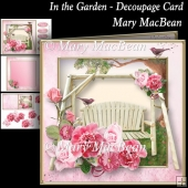 In the Garden - Decoupage Card