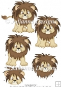 GSD PNC Cute Lion Cutting Machine File