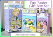 Fun Easter Gift Box Set with Tags