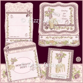 Plant Happiness Easel Card Kit