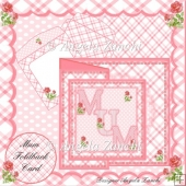 Mum 6x6 Foldback Card Kit