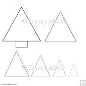 Commercial Use Christmas Tree Pyramage Sheet