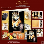 Big Cats - 3-Sheet Mini-Kit