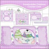 Snowbuddies Christmas Cracker Card & Envelope