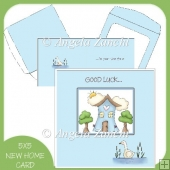 Good Luck In Your New Home Card