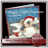 Wibble 'n Wobble Card Kit - Merry Christmouse
