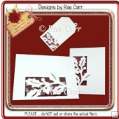 155 Holly & Berries Card & Tag *Multiple MACHINE Formats*