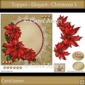 Topper - Elegant - Christmas 1