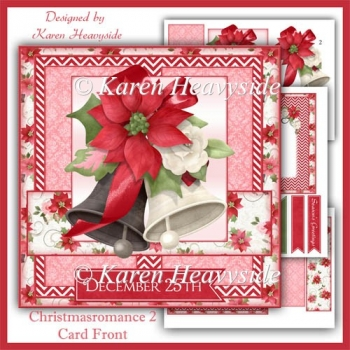 Christmas Romance 2 Card Front