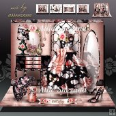 Dressing Room Vintage Card Kit