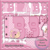 Baby Girl 3 Word Book