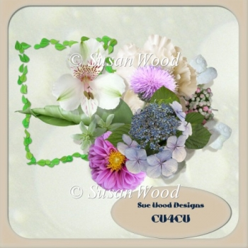 Designer Resource cu4cu Florals n Bits