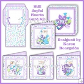 Still Joyful Hearts Card Kit