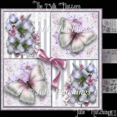 The Silk Flutters Card Front Kit