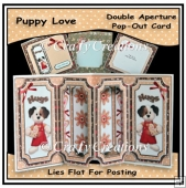 Puppy Love Double Aperture Pop-Out