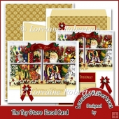 The Toy Store Easel Card