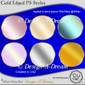 Gold Edged PS Styles