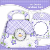 Just Ducky Handbag Card