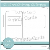 C7, C6 And C5 Envelope CU Templates