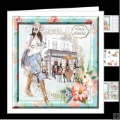 Flowers and Shopping 1 Mini kit