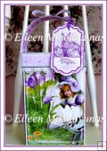 Easter Lass Tall Gift Box with Handle and Tag