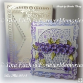 Pansy card & Box TF0192, SVG, MTC, SCAL, CRICUT, ScanNCut, Cameo