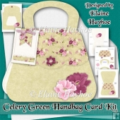 Celery Green Handbag Card Kit